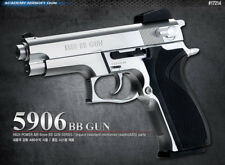Academy Korea S&W M5906 Full Size Airsoft Pistol BB Replica Hand Toy Gun 6mm