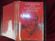 CAMPAIGNS on NORTH-WEST FRONTIER by H.L.NEVILL/PAKISTAN AFGHANISTAN/MAPS/1977