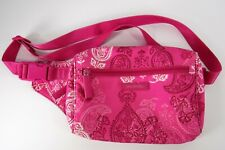 Vera Bradley Lighten Up Belt Bag Stamped Paisley Pink Fanny Pack