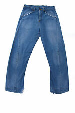 LEVIS 002 VINTAGE 80s TWISTED MENS JEANS DENIM FADED RED TAB STRAIGHT W30 L34