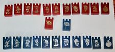 Vintage 1962 Wood Stratego pieces - Replacement Parts - $2.99 each - Very Nice