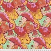 Kaffe Fassett Spring 2018~ Lotus Leaf Citrus Cotton Fabric by Free Spirit
