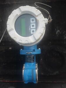 endress hauser flow meter as is no returns used
