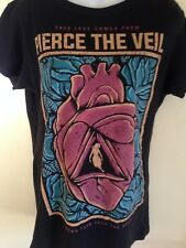 Pierce The Veil true love comes Besitos Ladies Fitted Xl T-Shirt Rock 2012