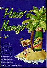 Fanta -- Heio  Mango  -- NEU  -- Werbung von 1987 --