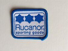 Rucanor Sporting Goods Sew On Badge