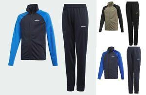 Adidas Boys Kids Tracksuit Jogging Bottoms Jacket Track Top Training Pants 5-14