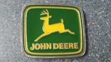 Leaping Deer Belt Buckle Square John Deere Paul Frank Green