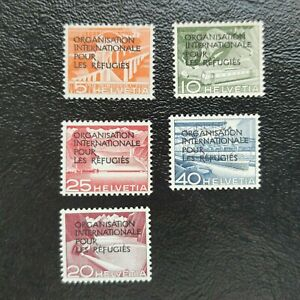 Suiza año 1950 (Servicios) MNH