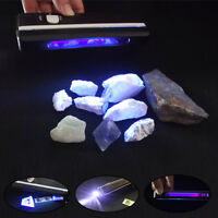 254nm Shortwave Ultraviolet  UV Lamp Tagged Stamps Minerals Detector with Filter