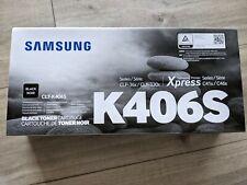Original Samsung CLT-K 406 S Tonerkassette - Schwarz