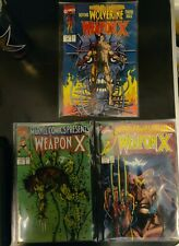 Marvel Comics Presents Wolverine 72,73, 74 1991 Weapon X (Origin) EXCELLENT COND