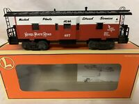 ✅LIONEL NKP NICKEL PLATE ROAD BAY WINDOW CABOOSE 6-19752 NEW! FITS MTH K-LINE