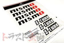 660191071 NISMO S-tune Decal Sticker Set Black