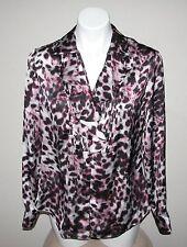 JONES NEW YORK SIGNATURE Petite Polyester Long Sleeve Blouse Size PL