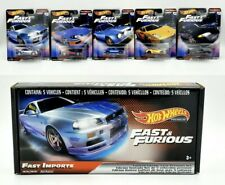 Hot Wheels Fast and Furious Fast Imports Box Set - Skyline -In Hand, Ships Fast!