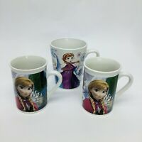 Lot Disney Frozen Elsa And Anna Cups Tea Coffee Hot Cocoa Cups Disney Store