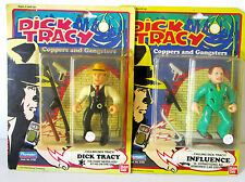 2 figurines Film  DICK TRACY 1990