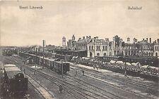 More details for bc65362 brest litowsk railway station train chemin de fer palyaudvar  belarus