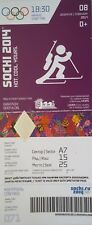 TICKET 8.2.2014 Olympia Sochi Russia Biathlon Gold Bjorndalen D71
