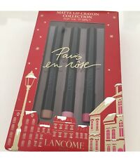 LANCOME Paris Paris en Rose Matte Lip Crayon Collection NIB Retail $72