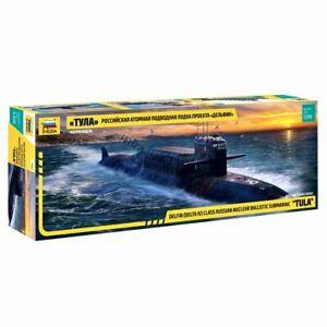 """Zvezda 9062 K-114 """"Tula"""" (Delta-IV) Delfin-class /russian SSBN submarine/ 1/350"""