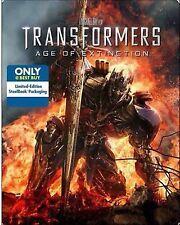 Transformers: Age of Extinction (Blu-ray Ultraviolet; Steelbook) best buy