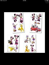 Disney Minnie Mouse Clubhouse Tattoos 16 Piece Party Favor