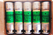 Lot of 10 GEC Alsthom CRN R30 Time Delay Fuse Class RK5  250 Volts