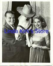 "John Reed King, Horace Horse & Cindy Cameron Photo ""Chance of a Lifetime"" ABC-TV"