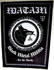 WATAIN-Black Metal besoins [back patch]