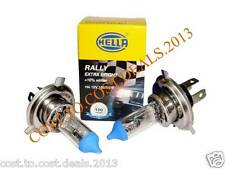 PAIR OF HELLA RALLY EXTRA BRIGHT H4 XENON BULB 12V 100/90W P43 CARS & MOTORCYCLE
