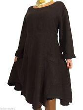 Leinene Damenkleider im Tuniken-Stil für die Freizeit