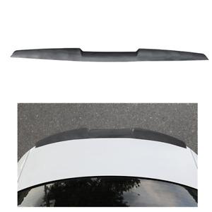 1.2M Soft TPU Car Rear Roof Trunk Spoiler Rear Wing Lip Trim Sticker Universal