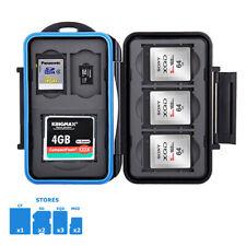 JJC MC-STCQ8 Memory Card Case fits 1 CF 2 SD 3 XQD 2 MSD Storage camera water RE