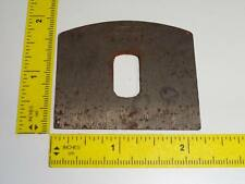 """VTG STANLEY SPOKE SHAVE IRON CUTTER 2 1/8"""" NOS NOTCHED LOGO OVAL OPENING USA"""