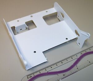 "3.5"" White Steel HDD Hard Disk Drive Bracket Holder 4 Thermaltake Core V1 Snow"