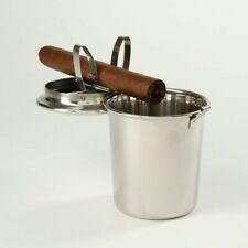Stinky Cigar-Car Ashtray - Fits in Cup Holder - Stainless Steel