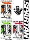Spartan MC Limited Edition 2017 Michael Clarke English cricket bat sticker set