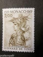 MONACO 1969, timbre 804, LEONARD DE VINCI TABLEAU CONDOTTIERE, neuf**, MNH