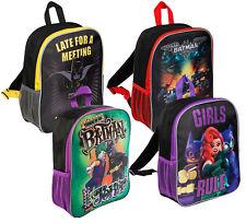 Kids Batman Backpack Girls Boys DC Comics Joker School Lunch Bag Travel Rucksack