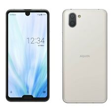 SHARP AQUOS R3 IGZO ANDROID PHONE UNLOCKED JAPAN DOLBY WHITE SHV44 SH-04L 808SH
