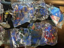 DC Super Heroes Subway Justice League Figures Wonder Woman Straw Batman Hawkgirl