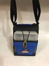 Flw Outdoors Fishing Tackle Bag With 3 Storage Containers Strap, with Hooks etc.
