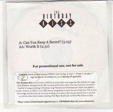 (EN795) The Birthday Kiss, Can You Keep A Secret? - 2013 DJ CD