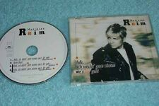 Matthias Reim Maxi-CD Hallo, Ich Möcht' Gern Wissen Wie's Dir Geht - 4-track CD