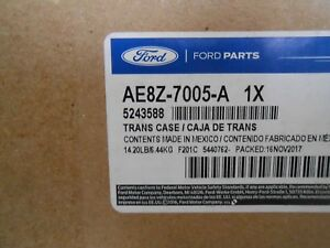 AE8Z-7005-A A.T. FACTORY NEW CASE HALF FITS FORD FIESTA 2011-2016 W/DPS6