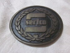 serfco belt buckle Dyna Buckle Provo Utah Made in USA solid Bronze !Free Shippin
