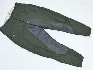 Wehrmacht Breeches WSS Keilhose Reitstiefelhose Stiefelhose m. Lederbesatz Gr.50