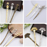 Vintage Metal Hair Chopsticks Hair Stick Hairpin Fork Hair Women Accessories